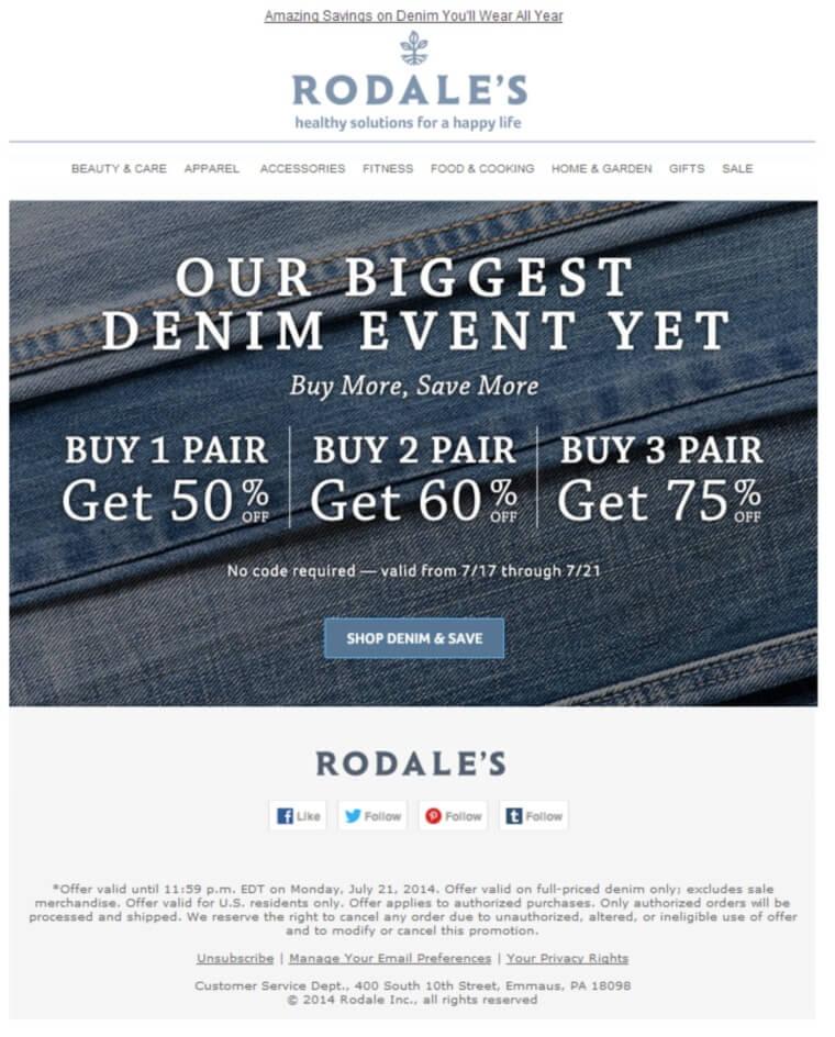 Rodales-Sale